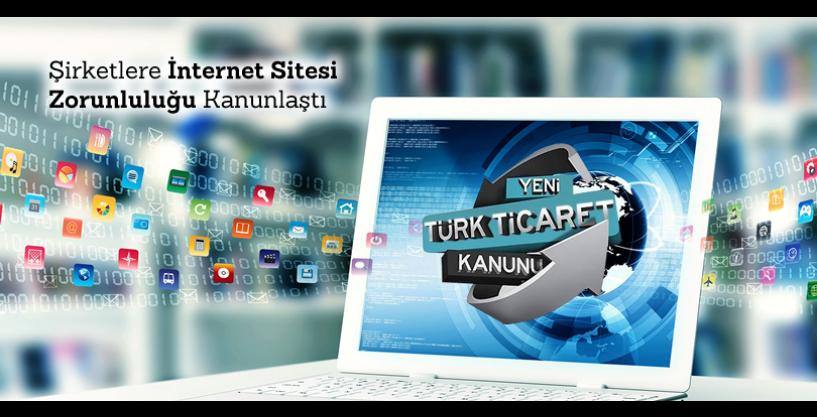 Şirketlere İnternet Sitesi Zorunluluğu Kanunlaştı, 13 Ocak 2011 tarihinde yasalaşan Türk Ticaret Kanunu 1524üncü maddesi ile şirketlere İnternet sitesi